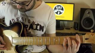 Gitar Dersi: 12-Temel Bare Akorlar