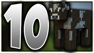 10 Things You Didn't Know About Minecraft Cows! - 10 Minecraft Cow Facts
