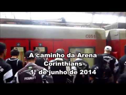 Já conhece o caminho entre a Estação da Luz e a Arena Corinthians? Veja!