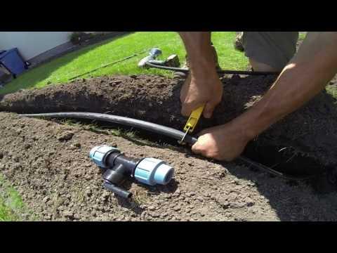 Bau einer Bewässerungsanlage. Tutorial 2: Perfekte Regnerplatzierung