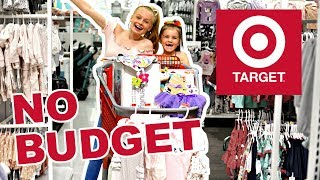 NO BUDGET TARGET BABY SHOPPING Challenge!! 🎯👶