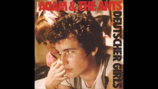 Adam & The Ants- Deutscher Girls B/W Plastic Surgery