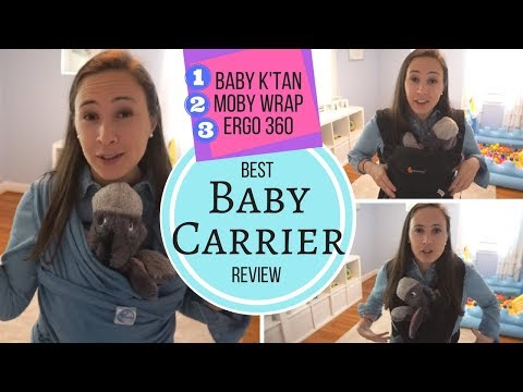 Baby Carrier Review & Comparison! Ergo 360, Baby K'tan & Moby Wrap – Best Baby Carrier?