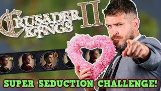 Crusader Kings 2 Medieval Super Seducer Simulator - Child Only Challenge ( Funny Moments )