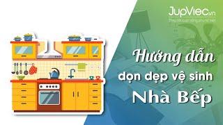 JupViec.vn - Hướng dẫn vệ sinh nhà bếp