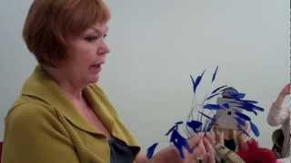 Fascinators: Embellishing With Feathers