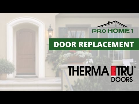 Pro Home 1 is here to help you in deciding if Therma-Tru doors are the right choice for you. When you purchase an entry or patio door from Therma-Tru, you can rest assured knowing that you purchased a high quality, beautiful product that was built to last. Trema-Tru is the most preferred brand in the industry, and they produce a higher quality and better performing product than the competition.