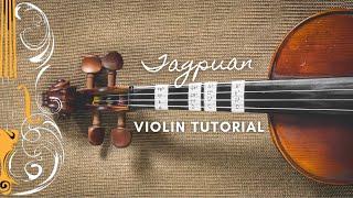 Tagpuan   Moira Dela Torre | Violin Tutorial