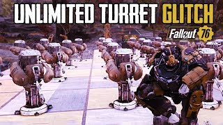 Fallout 76 - NEW UNLIMITED TURRETS IN BASE GLITCH | Unlimited Camp Budget (In Depth Tutorial)