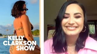 Demi Lovato Posted Unedited Bikini Photo With Cellulite To Free Herself: It Just Felt So Good