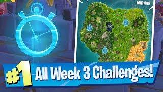 Fortnite SEASON 6 WEEK 3 Challenges Guide (Timed Trial Locations)