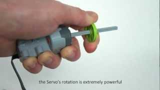 LEGO Technic Power Functions L motor, Servo motor & receiver V2