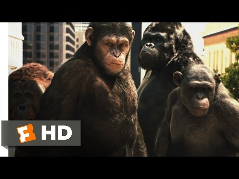 Rise Of The Planet Of The Apes (2011) - Attack On San Francisco Scene (3/5) | Movieclips Mp3