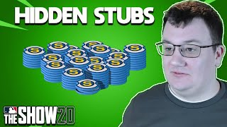 Hidden Stubs on Your Account (Cleaning Up Your Binder) MLB The Show 20 Diamond Dynasty