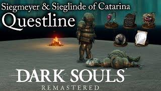 Dark Souls:Remastered   Siegmeyer & Sieglinde Of Catarina Questline [Guide]