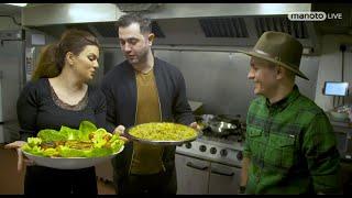 Manoto Plus / من و تو پلاس - چالش سبزی پلو ماهی