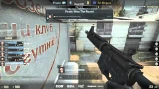 G2 vs. Fnatic, SL i-League StarSeries S14, LAN, map 1 cache