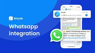 Watch: WhatsApp Tasks and Reminders Integration