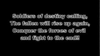 Dragonforce - Cry Thunder (Lyrics)