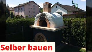 Pizzaofen Selber bauen Steinbackofen Bauanleitung