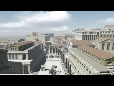 """""""HISTORY IN 3D"""" - ANCIENT ROME 320 AD - 1st trailer"""