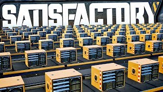 45 Computers /min Production is INSANELY Satisfactory! | Satisfactory Early Access Gameplay Ep 34