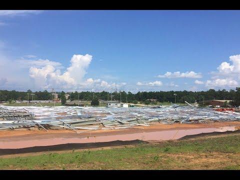 South Alabama's Football Facility Collapses | Stadium