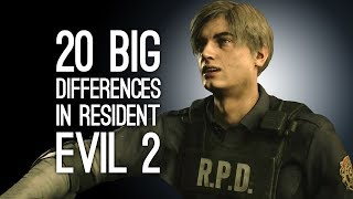 Resident Evil 2 Remake Gameplay: 20 Big Differences in the First 20 Minutes of Resident Evil 2