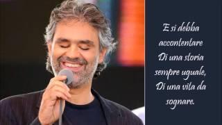 Le Tue Parole - Andrea Bocelli - (Lyrics)