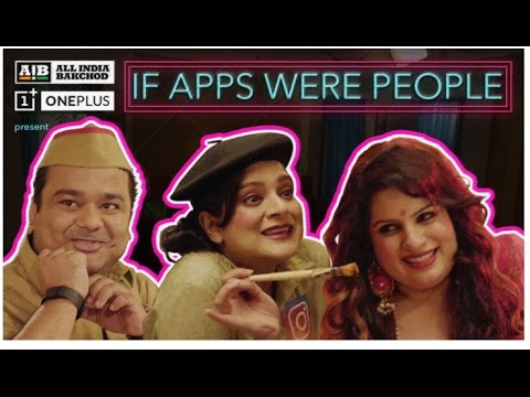 AIB : If Apps Were People