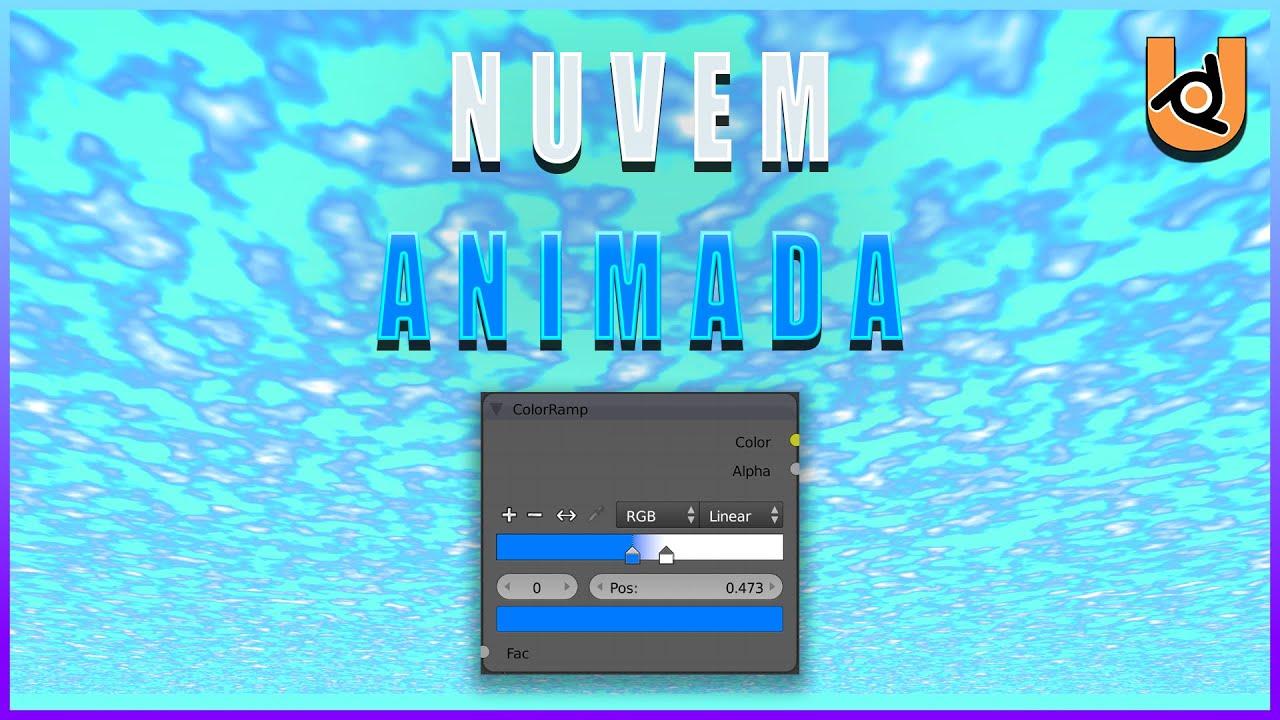 NUVENS COM NODES   UPBGE (Tutorial)