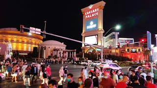 Saturday Night On Las Vegas Strip Live