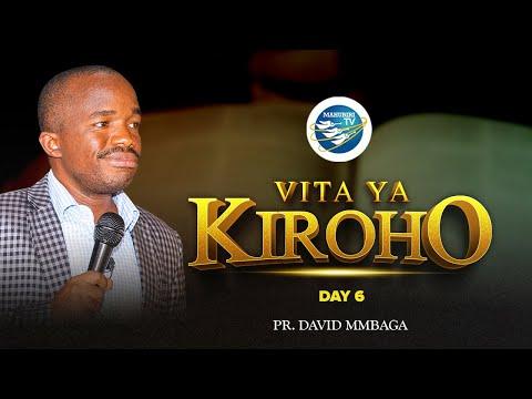 #LIVE: IBADA TAR 02/04/2021 - VITA YA KIROHO SIKU YA 6: PR. DAVID MMBAGA