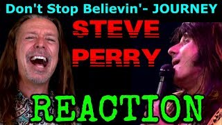 Vocal Coach Reaction To Journey   Steve Perry   Don't Stop Believin'   Ken Tamplin