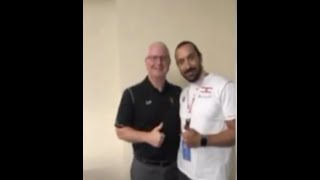 2017 Oct Owner/Head Coach Mohamad Sakr's visit to Washington
