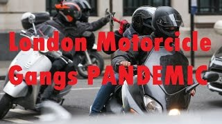 London motorcycle theft / crime epidemic