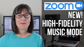 Zoom In Music Mode For Online Fitness Classes and Music Lessons