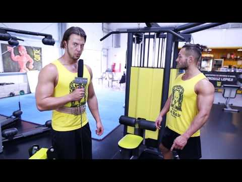 Wewnętrzne napięcie mięśni pleców