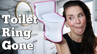 HOW TO GET RID OF THE TOILET RING -Take A Tip Tuesday!!