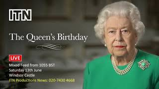 LIVE: Queen's Official Birthday Celebrations at Windsor Palace