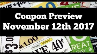 Coupon Insert Preview Chit Chat 2 Inserts November 12th 2017
