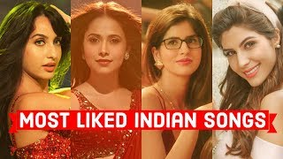 Top 25 Most Liked Indian/Bollywood Songs of All Time on Youtube   Hindi Punjabi Songs