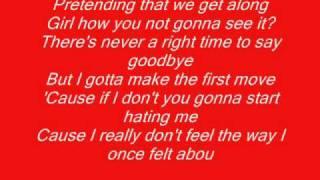 chris brown say goodbye (wit lyrics!)