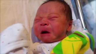 Day4   Some Weird NewBorn Baby Movements CONFUSED & CRYING