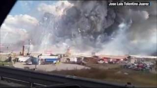 Video: Dozens hurt in explosion at fireworks market in Mexico
