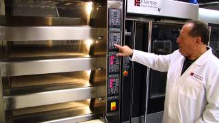 ENERGY Electric Deck Oven with EASY-2 Oven Loader