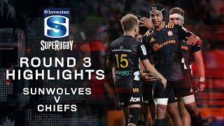 ROUND 3 HIGHLIGHTS | Sunwolves v Chiefs – 2020