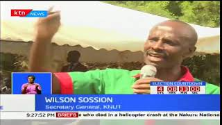 KNUT SG, William Sossion urges IEBC chair Wafula Chebukati to postpone repeat presidential elections