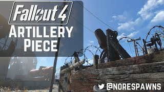 Fallout 4 Guide - Artillery Piece Builds
