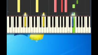 Devo   Beautiful World [Piano tutorial by Synthesia]